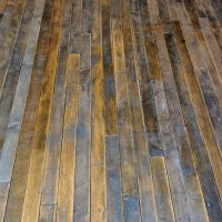 One Hundred Year Old Factory Flooring
